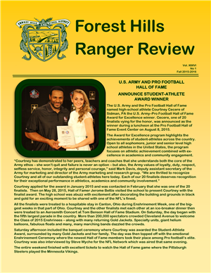 Fall Newsletter 2015