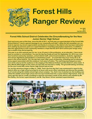 Fall Newsletter 2014-2015