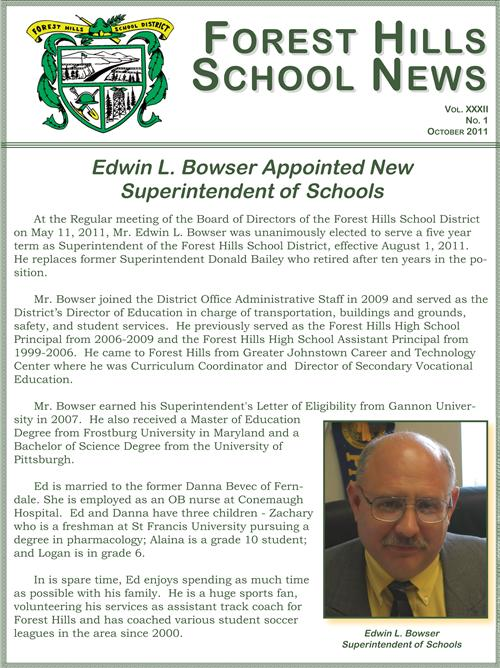 October Newsletter 2011-2012
