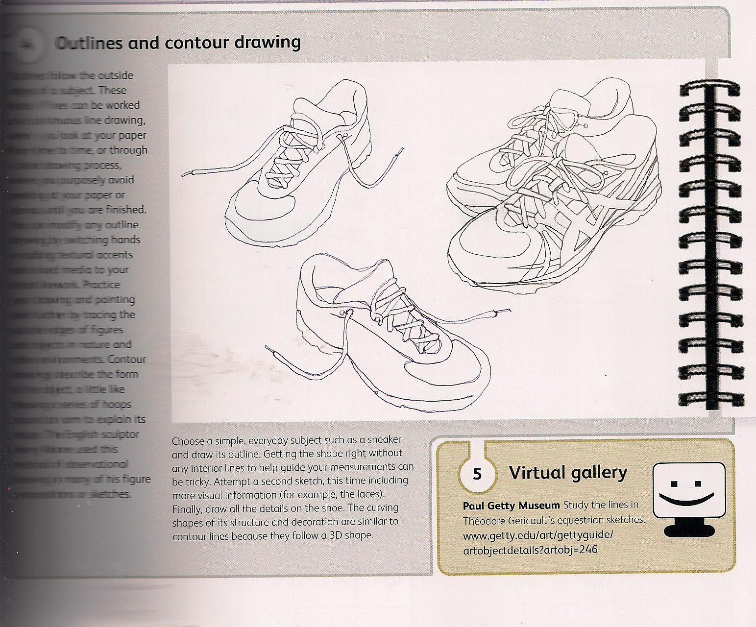 Contour Line Drawing Handout : Images about drawing on pinterest