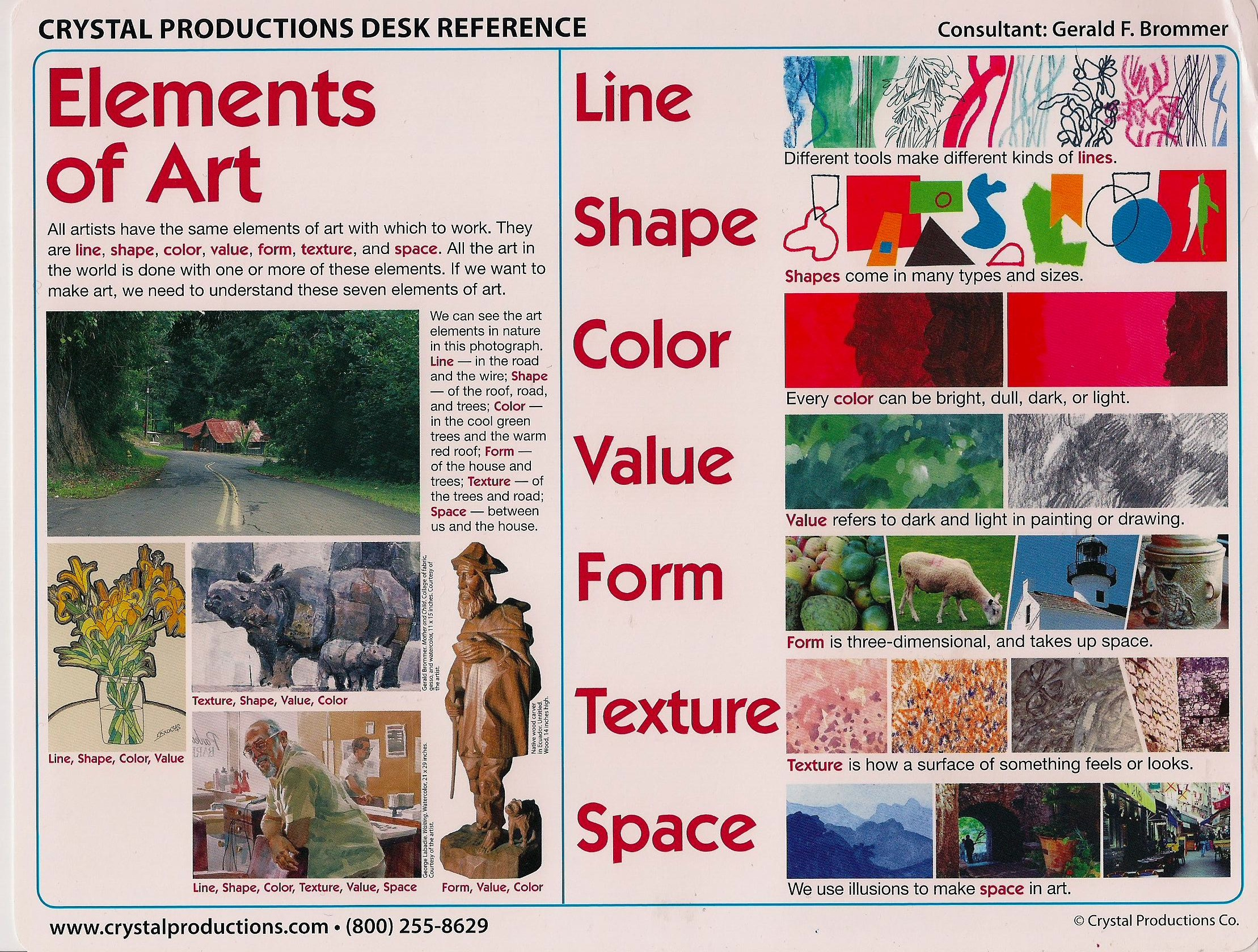 What Is Element Of Arts : Elements of art value examples imgkid the