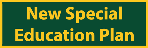 New Special Education Plan