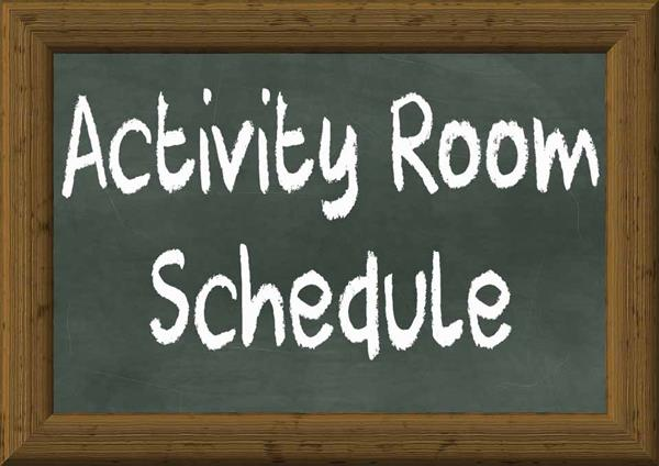 Activity Room Assignments